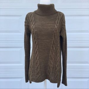 🍁Old Navy Olive Green Turtle Neck Knit Sweater🍁
